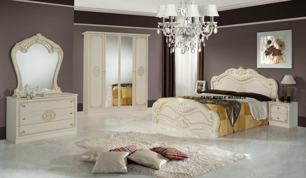 Sypialnia Lucyna 4d160 Beżowa Meble Sabo